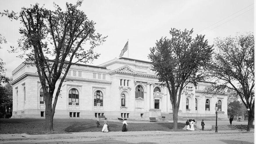 Carnegie Library in Washington, D.C., 1906.