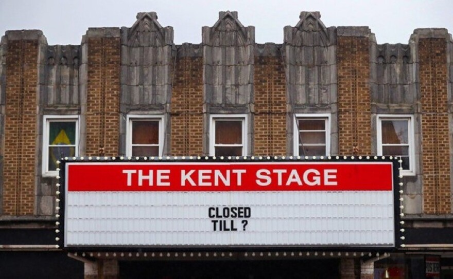 A photo of the Kent Stage