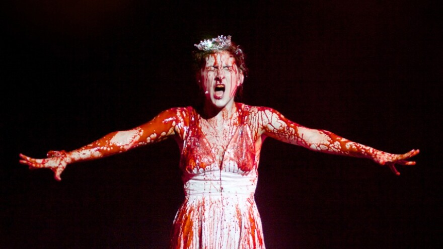 In <em>Carrie The Musical</em>, now being revived at a California theater, Carrie gets a jarringly Disneyesque song before her fateful prom.