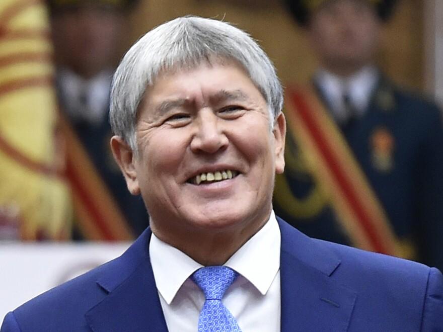 Almazbek Atambayev served as Kyrgyzstan's president from 2011 to 2017.