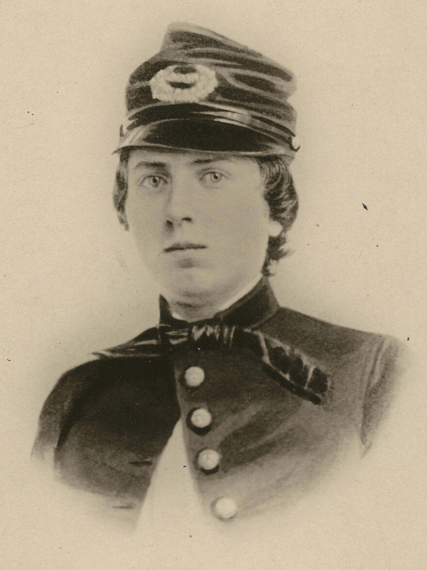 """1st Lt. Alonzo Cushing, shown in an undated photo provided by the Wisconsin Historical Society, is expected to get the nation's highest military decoration --€"""" the Medal of Honor --"""" this summer, nearly 150 years after he died at the Battle of Gettysburg."""