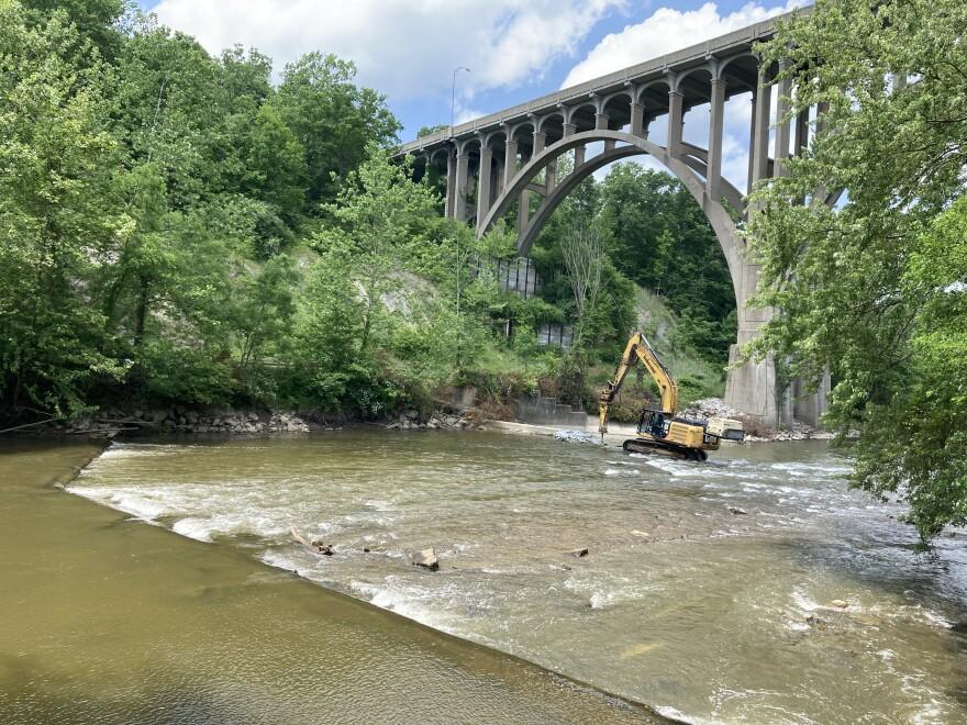 photo of Pinery Dam