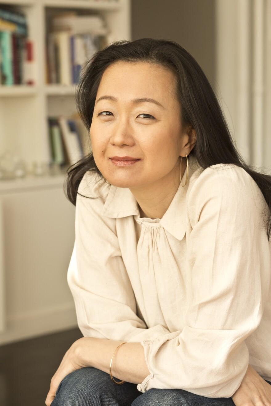 Min Jin Lee is also the author of the novel <em>Free Food for Millionaires.</em>