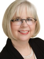 This is a photo of Jane Siers Wright, Director of Grants and Underwriting