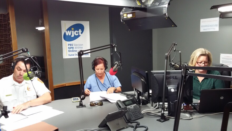 Medical examiner Dr. Valarie Rao and Lt. Mark Rowley, with Jacksonville Fire Rescue Division, joined First Coast Connect to discuss the region's opioid epidemic and spike in overdoses.