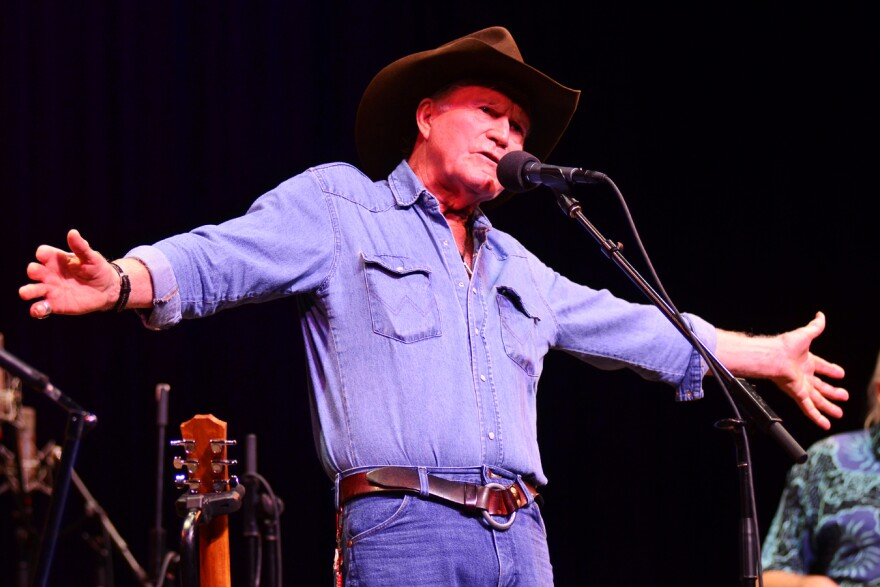 Billy Joe Shaver on Mountain Stage, 2011