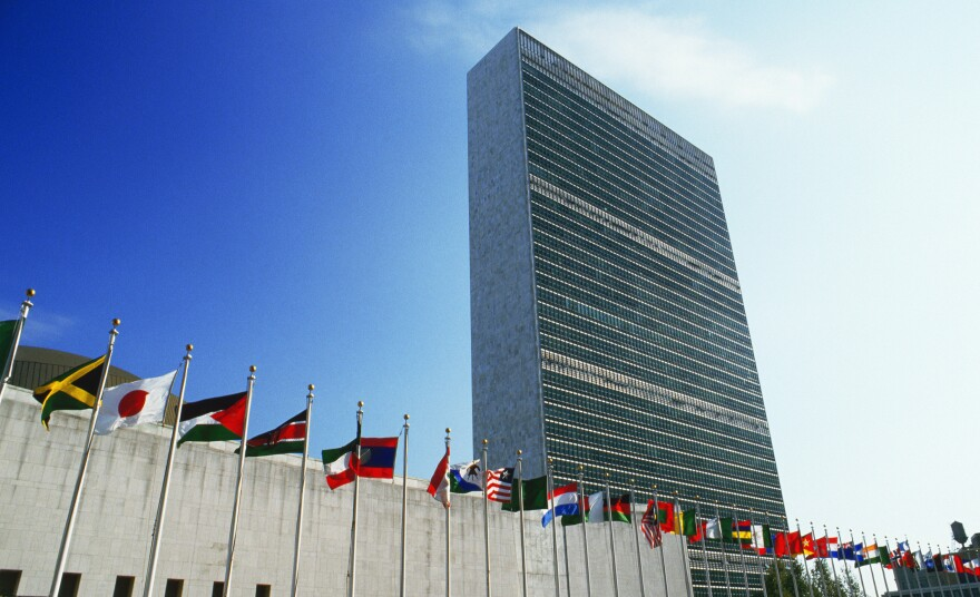 The United Nations headquarters in New York City. The agency has released the results of a survey on sexual harassment experienced by employees, consultants and volunteers.
