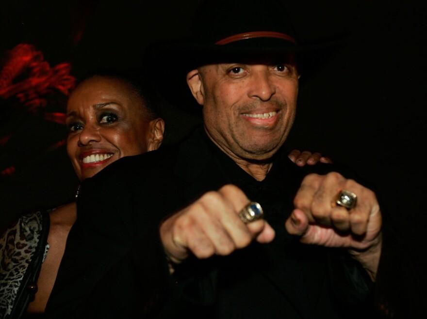 John Mackey and his wife Sylvia in 2007.