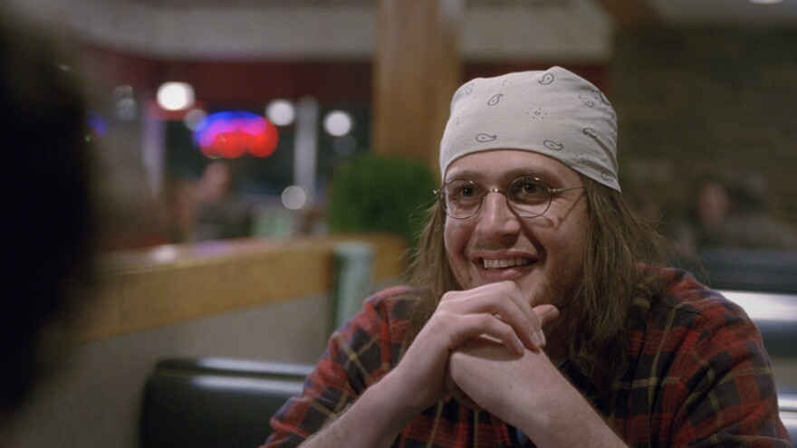 Jason Segel plays writer David Foster Wallace in the new film <em>The End of the Tour</em>.