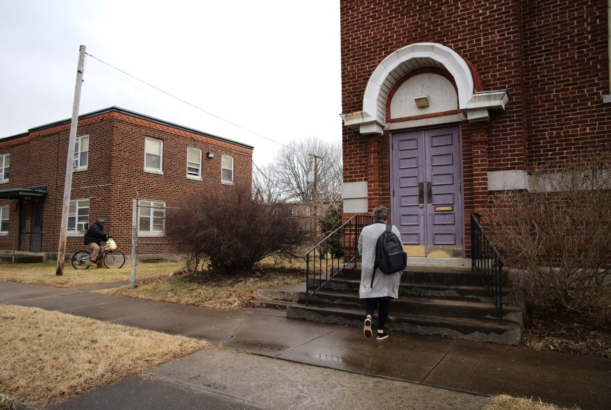 """A donor has made the purchase and renovation of this old, traditionally black church possible. Necia Freeman dreams of using it as a haven for her """"girls"""" and for first responders."""