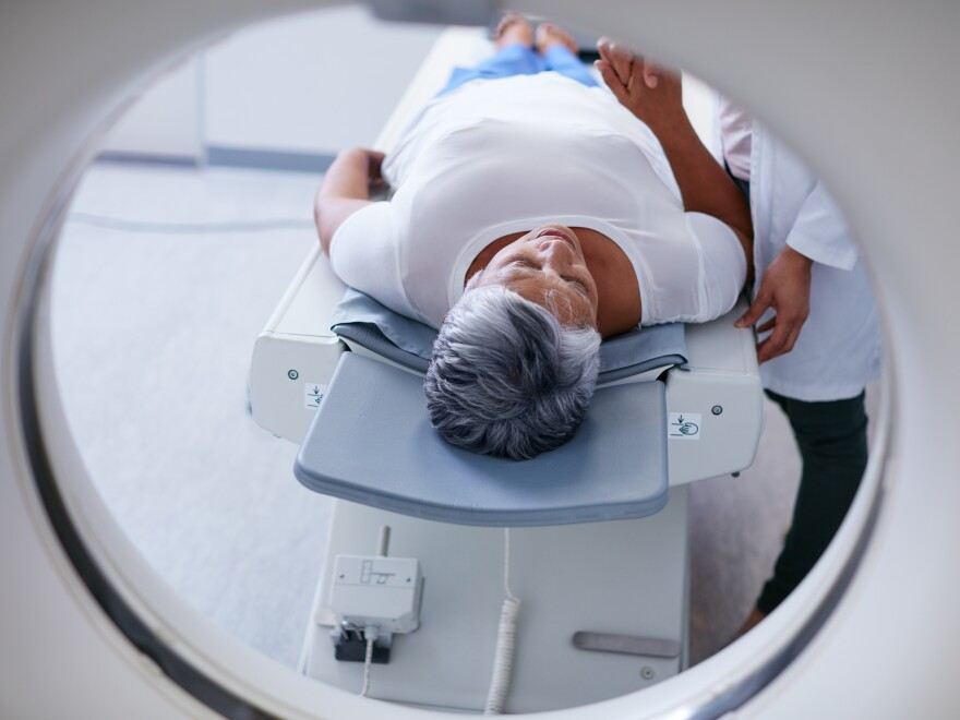 If a doctor is found to be ordering too many MRI or CT scans or other imaging tests for Medicare patients, a federal law is supposed to require the physician to get federal approval for all diagnostic imaging. But the Trump administration has stalled the law's implementation.