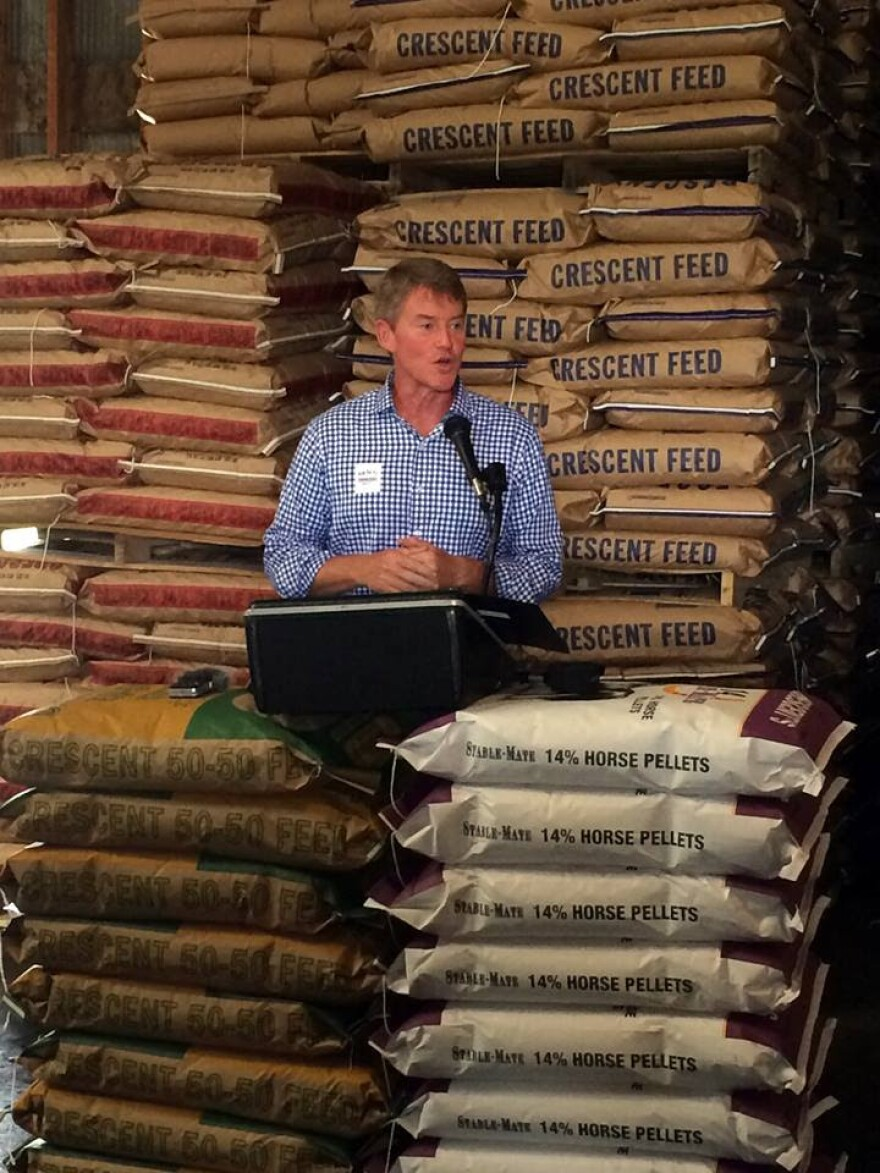 Chris Koster received the backing of several major agricultural groups, including the Missouri Farm Bureau.