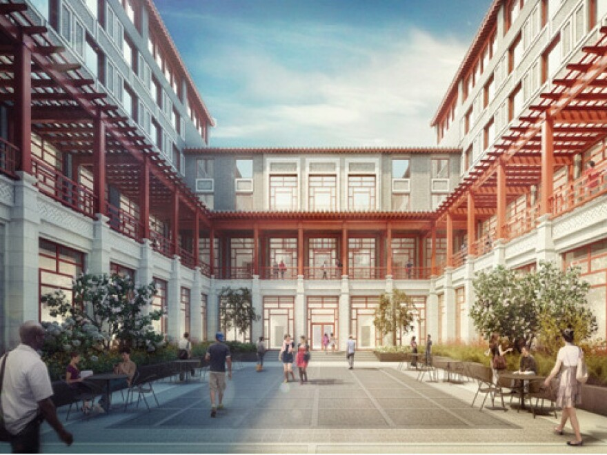 "The Schwarzman Scholars program, planned for the campus of Beijing's Tsinghua University, is described as ""a 21st century college designed to inspire interchange."""