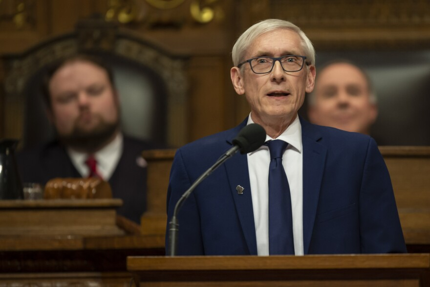 In its lame-duck session last December, The state's Republican legislature passed a number of laws curbing Gov. Tony Evers' power.