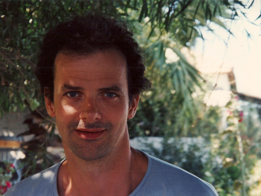 The author's older brother, Bertrand Sire, shown in his 30s. He died of stomach cancer five years ago this month.