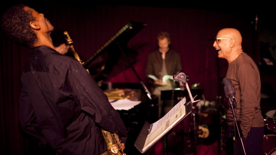 Mark Turner (left) and Paul Motian perform at the Village Vanguard.