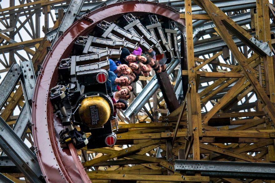 Steel Vengeance is the world's tallest hybrid roller coaster.