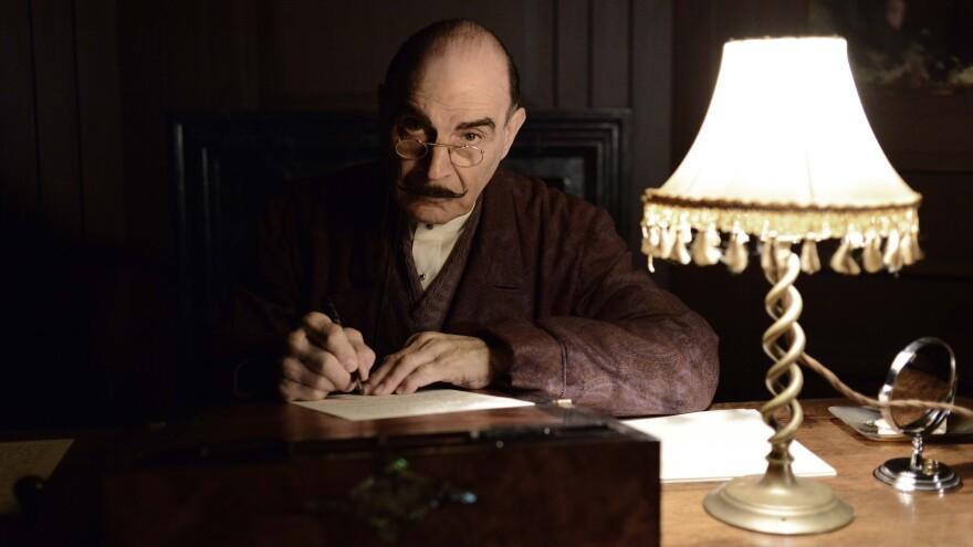 David Suchet plays Hercule Poirot in Agatha Christie's <em>Poirot. </em>The last season<em> </em>premiers Aug. 25 on Acorn TV.