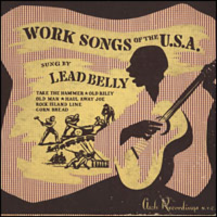 Leadbelly's album, <em>Work Songs of the U.S.A.</em>, was released in 1942. It was not a big seller at the time.
