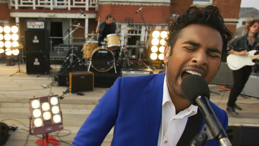 In <em>Yesterday</em>, directed by Danny Boyle, Himesh Patel plays Jack Malik — the only person on Earth who remembers the existence (and the music) of The Beatles.