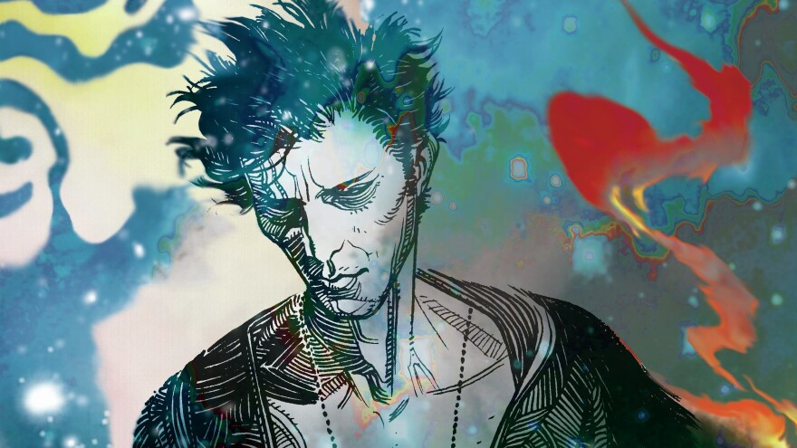 """I decided that it would be a really interesting to create a character who was Dream,"" author Neil Gaiman says of his character Sandman."