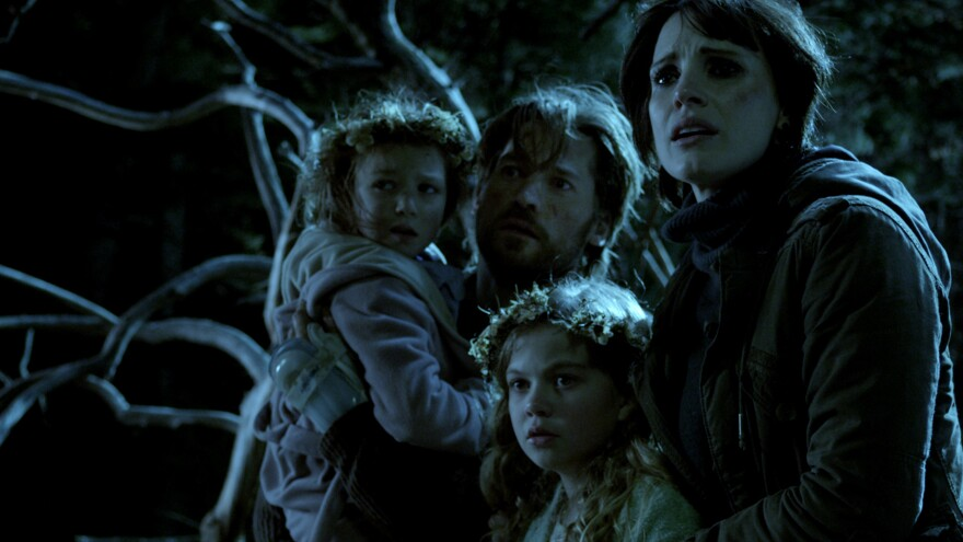 When Lucas (Nikolaj Coster-Waldau) and Annabel (Jessica Chastain) welcome his orphaned nieces (Isabelle Nelisse, left, and Megan Charpentier) into their home, they also inadvertently welcome one particularly malevolent spirit.