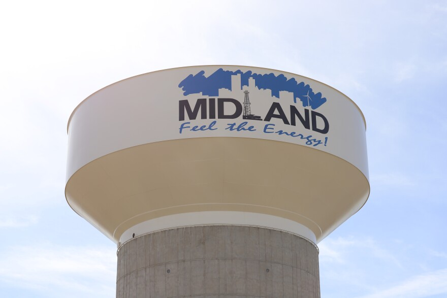 Midland water tower