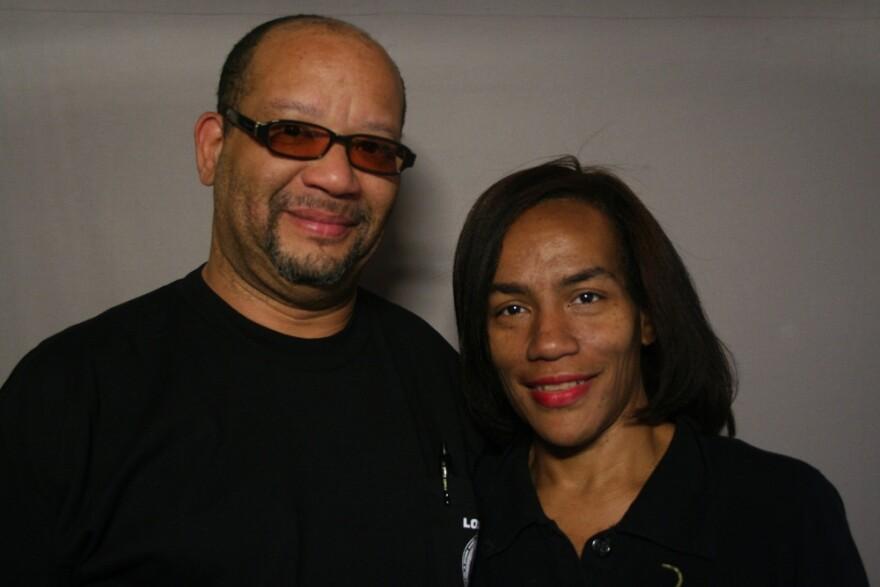 Kim Clay and Vanessa Stanton-Clay