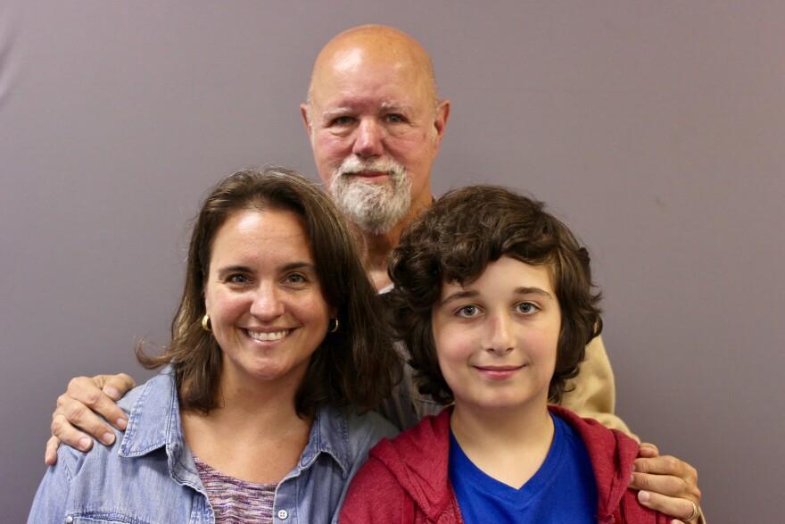Amy Schenck, Fred Abrams, and Evan Schenck