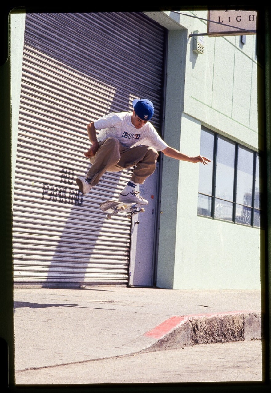 Mike Carroll started reading <em>Thrasher </em>as a kid; he was the magazine's Skater of the Year in 1994.