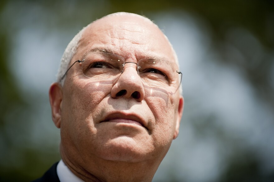 Former Secretary of State Colin Powell.