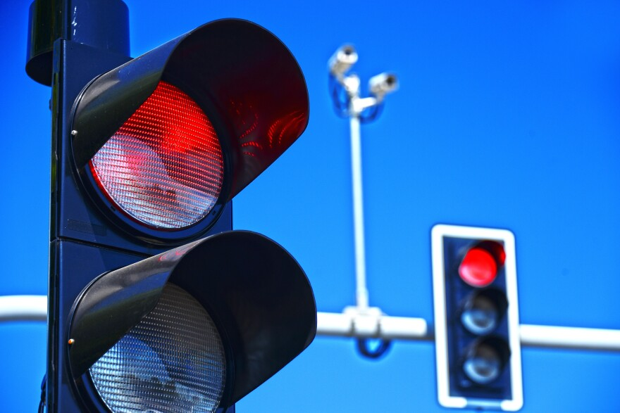 photo of red light signal