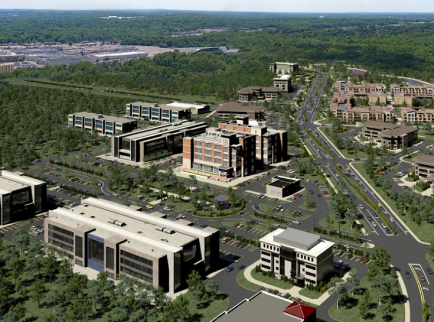 photo of Enterprise Park area