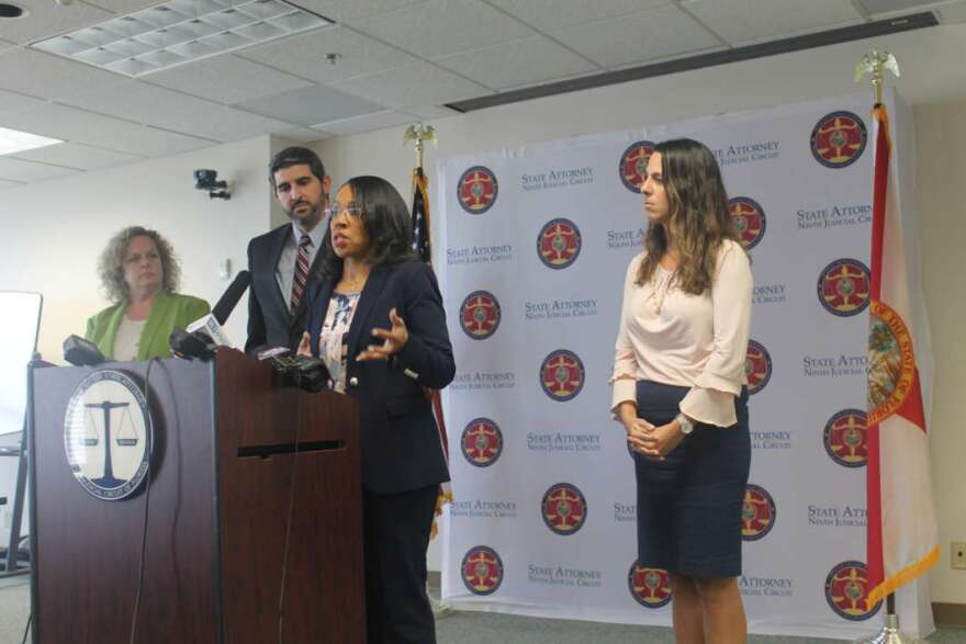 Orange and Osceola State Attorney Aramis Ayala says she's dropping the charges against the children. AMY GREEN/WMFE
