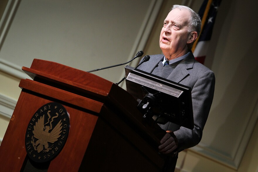 Ralph Cicerone makes a few remarks at a Celebration Of Carl Sagan at The Library of Congress on Nov. 12, 2013 in Washington, D.C.
