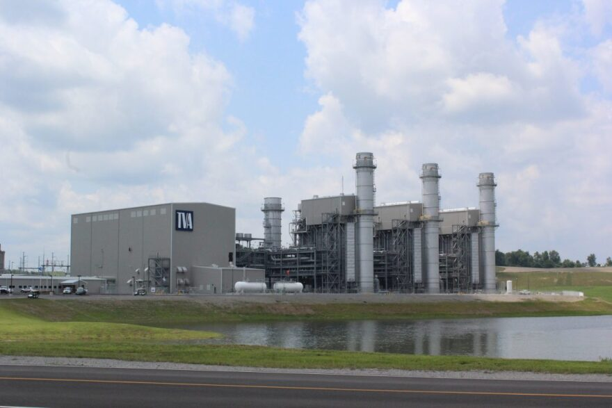 TVA's new 100 MW gas-fired facility at Paradise, KY.