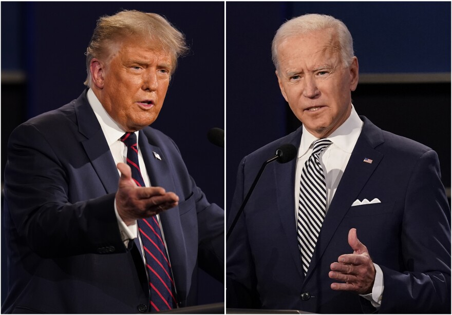 President Donald Trump and former Vice President Joe Biden, have widely divergent views on  health care issues.