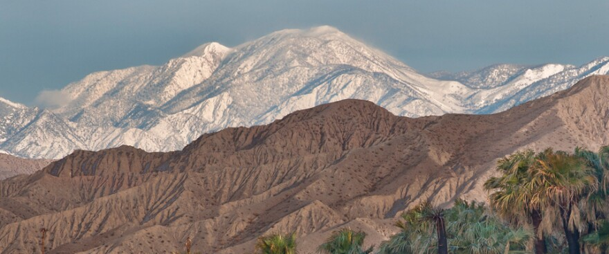 The Sand to Snow National Monument boasts the region's tallest alpine mountain.