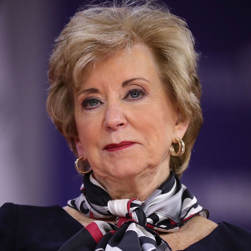 Linda McMahon had contributed heavily to Donald Trump's 2016 election effort. At America First Action, she could play a similar role in his 2020 bid for re-election.