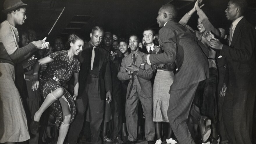 Dancing in a Harlem nightclub, sometime in the late 1930s. The Cabaret Law was originally intended as a tool for cracking down on jazz clubs in the Manhattan neighborhood.