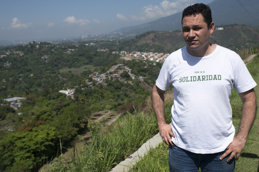 The Rev. Gerardo Mendez is the head of The Pasionista order in San Salvador. He works in an area controlled by the MS-13 gang.