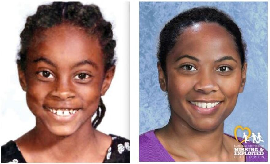Asha Degree was 9 years old when she disappeared on February 14, 2000. An age-progressed photo shows what she might look today.