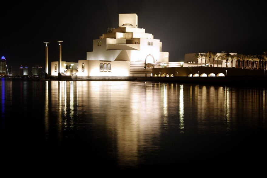 The Museum of Islamic Art in Doha, Qatar, opened to the public in 2008.