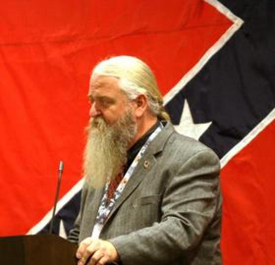 Kelly Crocker is with the Florida Division of the Sons of Confederate Veterans.