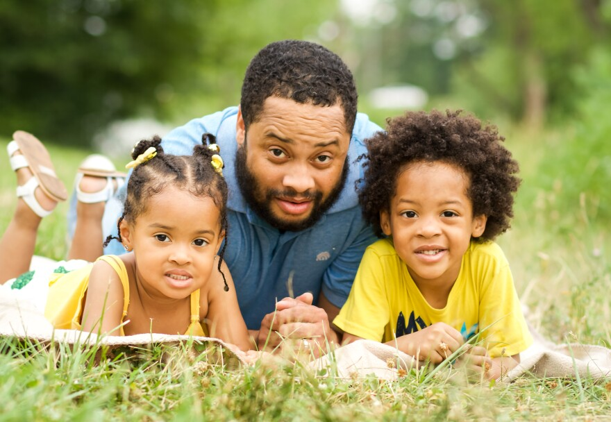 For Chad Roundtree, five descriptions come to mind when he thinks of Black fathers: Loving, important,  needed, strong, important to the village.
