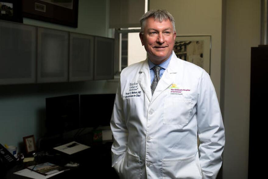 Dr. Peter Nielsen, the OBGYN-in chief at the Children's Hospital of San Antonio, has introduced California's toolkits in his labor and delivery department.