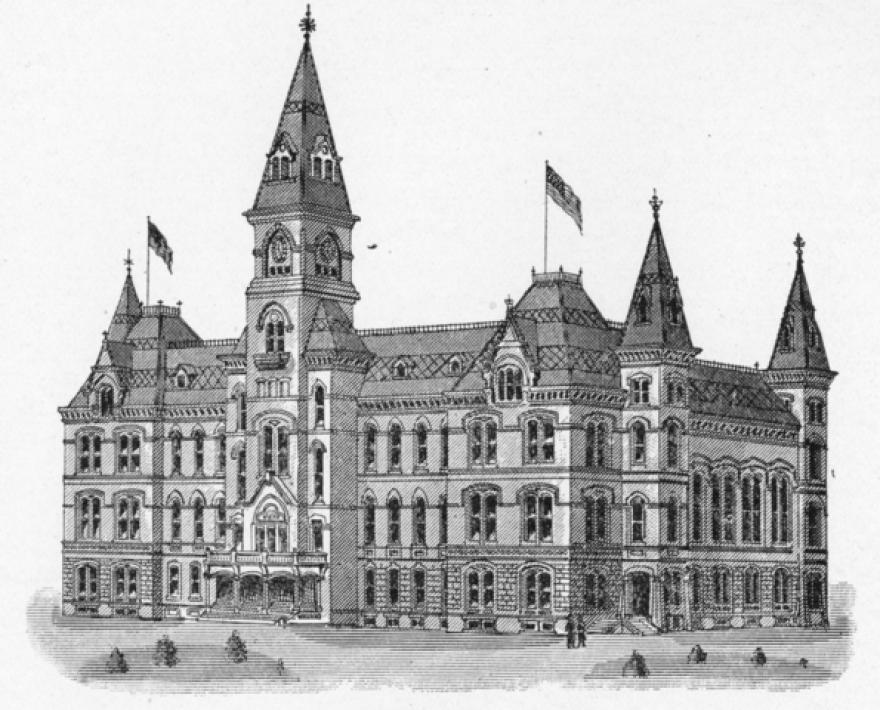 West Virginia's Victorian-era capitol