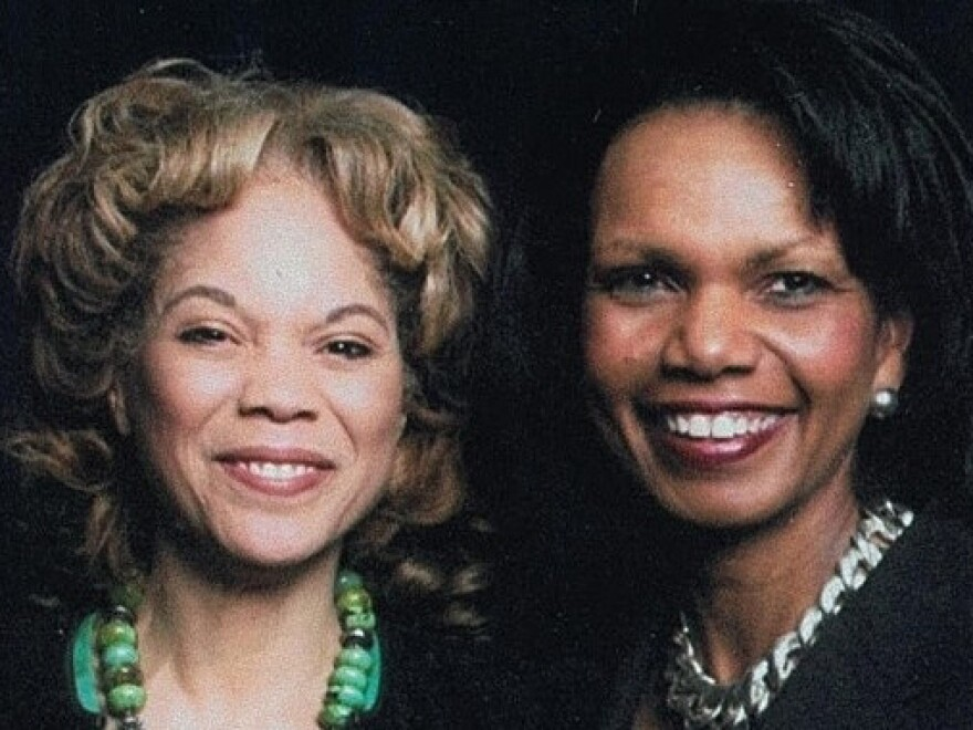 """""""We are very similar in many ways — but Connie is more driven than I am,"""" says cousin Condoleeza Rice (right), laughing. """"She works<em> all</em>  the time."""""""
