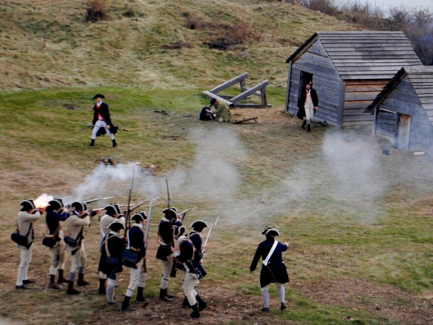 "According to newly discovered documents, a Pennsylvania officer led 30 of his men in a raid against the Massachusetts encampment, shouting ""Damn Yankees!"" and firing shots into the tents and cabins of sleeping soldiers."