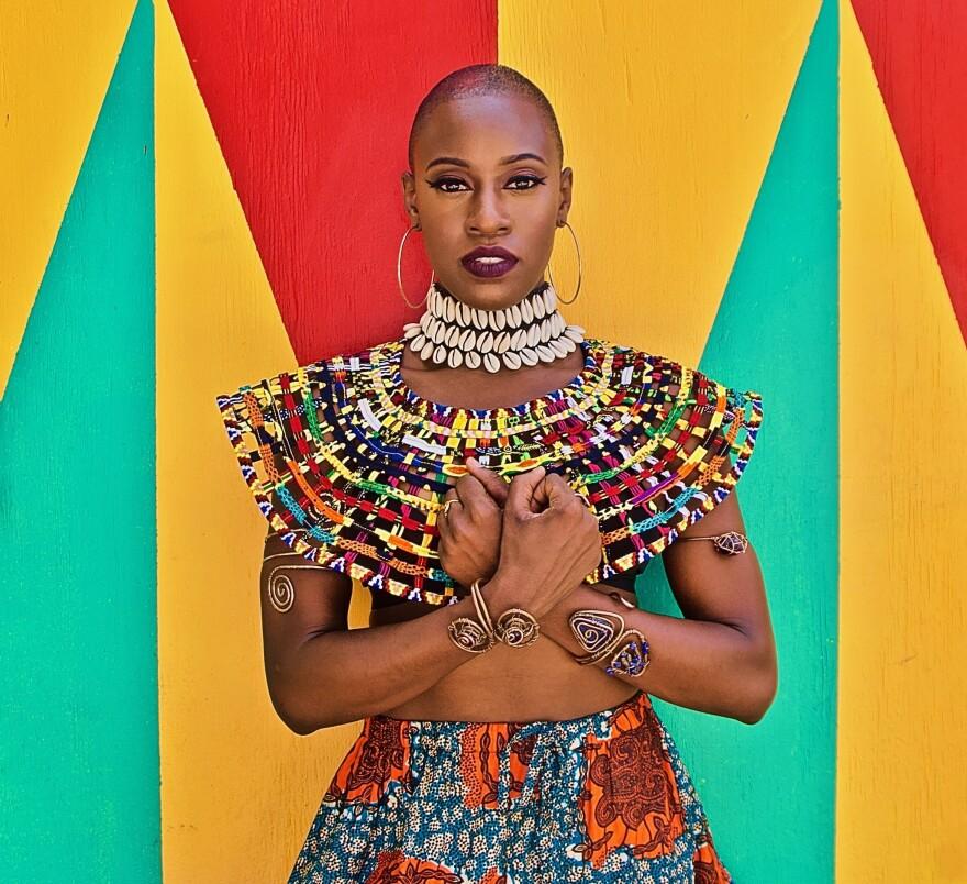 <em>Negesti (A Harlem Queen)</em>, Harlem, Aug. 25, 2019, 2:45 p.m, 74 F